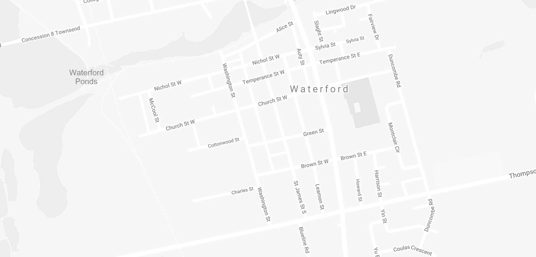 Map if Waterford